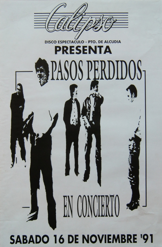 Pasos perdidos mallorcanochentas for Calipso singles