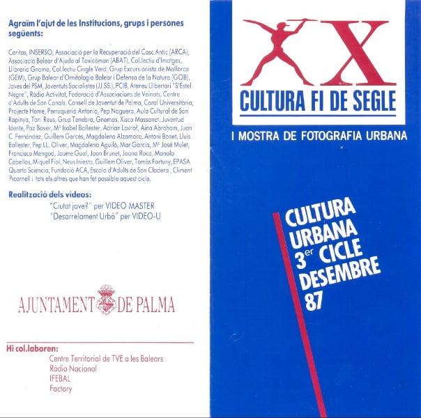 Portada folleto Cultura Fi de segle